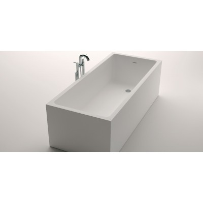 Agape Cartesio rectangular corner tub AVAS0986Z-O