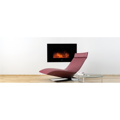 Fireplaces British Fire Vulcano Modern Fireplace EVULCA90NAP