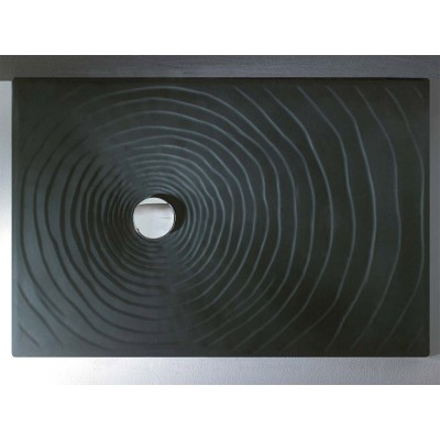 Flaminia Water Drop Shower Tray 80x80xh.5.5 in ceramic DR80