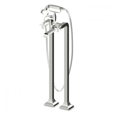 Zucchetti Bellagio Exposed bath-shower tap ZB1247+R99657