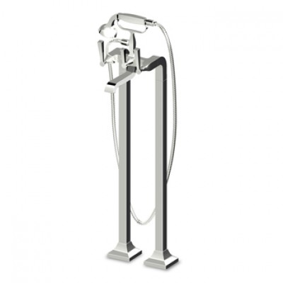 Zucchetti Bellagio Exposed bath-shower tap ZB2247+R99657