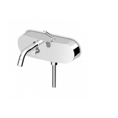 Zucchetti Isystick Exposed single lever bath-shower mixer ZP1148