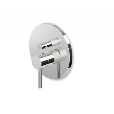 Zucchetti Pan Built-in single lever bath-shower tap ZP6096+R97800