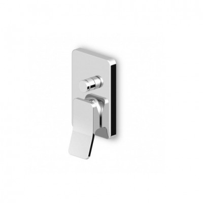 Zucchetti Soft Built-in single lever bath shower mixer ZP7613+R99614