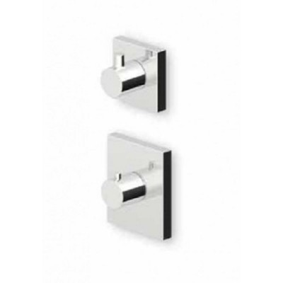 """Zucchetti Pan+ 3/4"""" built-in thermostatic shower tap ZP8077+R99630"""
