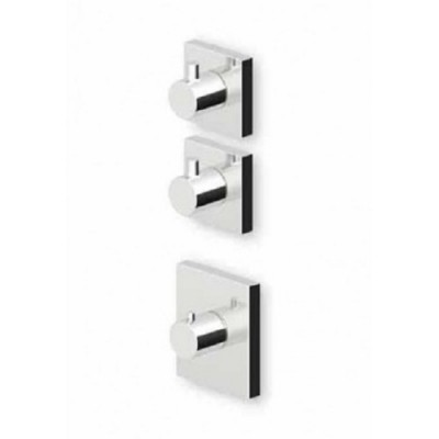 """Zucchetti Pan+ 3/4"""" built-in thermostatic shower tap ZP8091+R99631"""