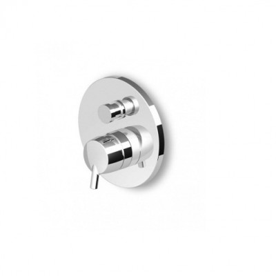 Zucchetti Simply Beautiful Built-in single lever bath-shower mixer ZSB127+R99684