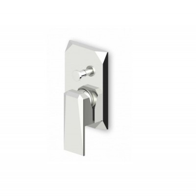 Zucchetti Wosh Built-in single lever bath-shower mixer ZW1625+R99614