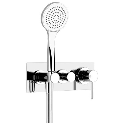 Gessi Via Tortona shower tap 44828+38439