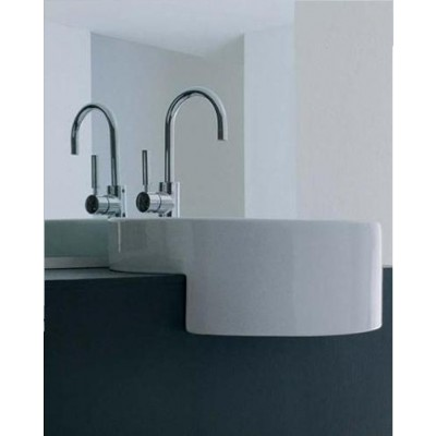 Flaminia Twin semi-inset sink 5054