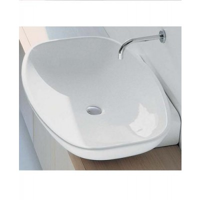 Flaminia Nuda bench-wall hung sink 5080