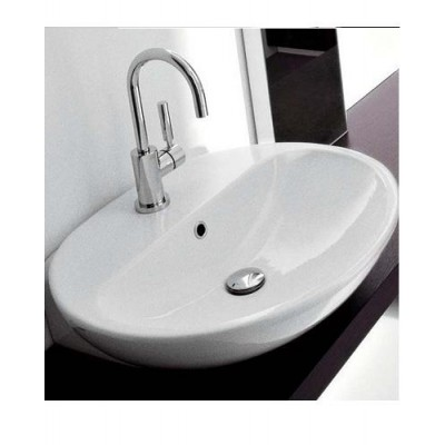 Flaminia Nuda bench-wall hung sink 5083