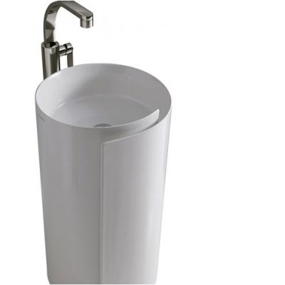 Flaminia Monoroll column with sink MR44P