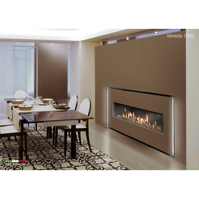 Italkero Venezia 130Q single side Grill-less Gas Fireplace IN13AMQ
