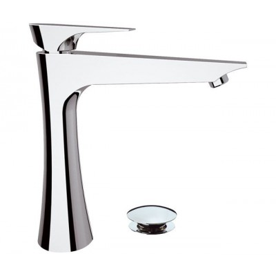 Daniel Diva Taps single lever hig basin tap DV607