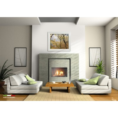 Italkero Firenze 70Q Single Sided Grill-less Gas Fireplace IN7AMQ