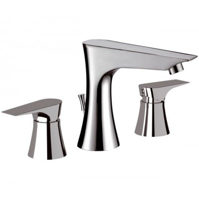 Daniel Diva Taps washbasin set with pop-up waste DV5003