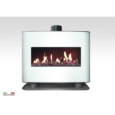 Italkero Venezia 90w Single Sided Gas Fireplace With Unit CN09AM