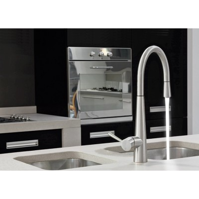 Gessi Just Kitchen Mixers sink mixer swivelling spout 20580