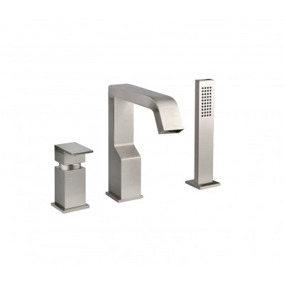 Gessi Rettangolo XL Mixers Three-hole tub tap 26137