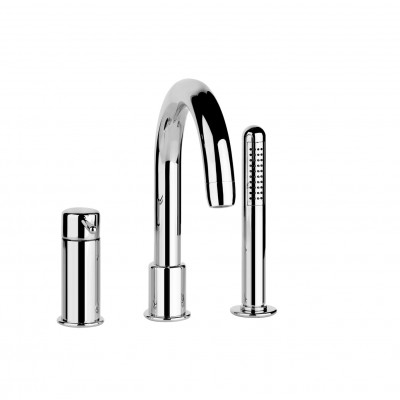 Gessi Goccia Three-hole tub tap 33637