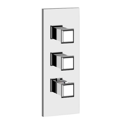 Gessi Eleganza Shower built-in thermostatic shower mixer 46204