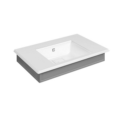 Gessi Eleganza Wall-mounted or counter-top console 46814