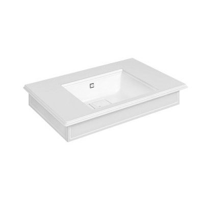 Gessi Eleganza Wall-mounted or counter-top console 46813