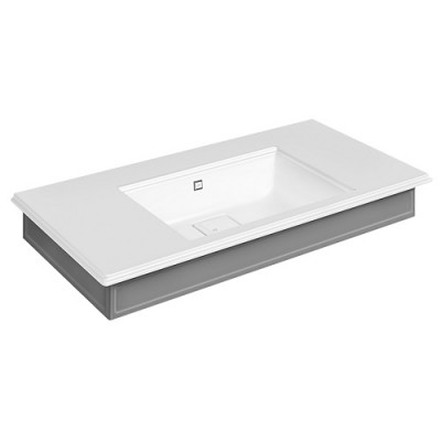 Gessi Eleganza Wall-mounted or counter-top console 46816