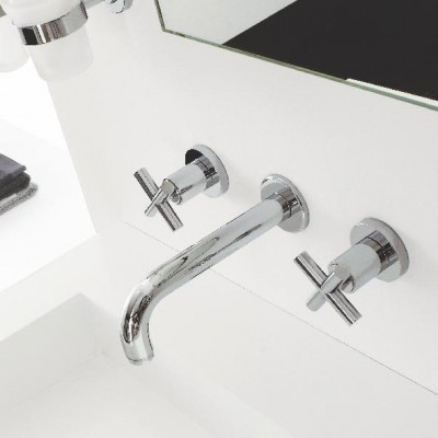 Zazzeri Da-Da 3 Mixers built-in washbasin set 4702 A113 A00
