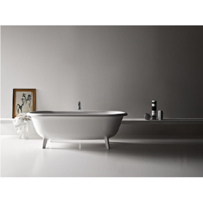 Agape Ottocento tub with waste AVAS0969