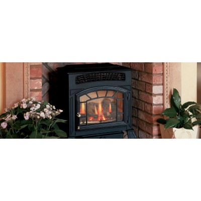 Fireplaces British Fire Ambience Gas Fireplace GAMB4121XML