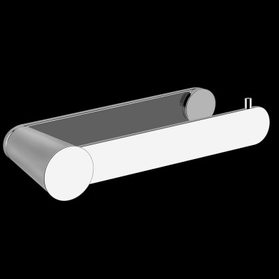 Gessi Cono wall-mounted paper roll holder 45455