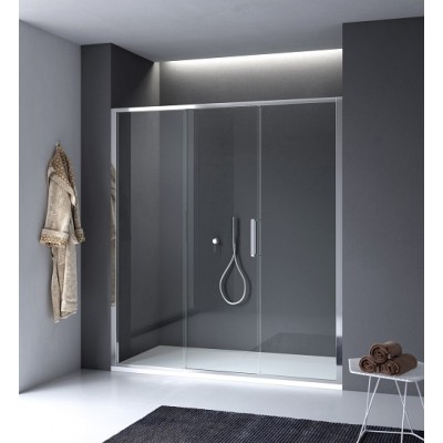 Calibe Arbatax Asymmetric Shower Enclosure with central door 770ARB