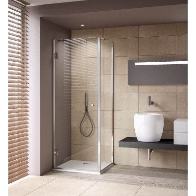 Calibe Thiana Shower Enclosure whit door+fixe side 799TNA+400FIS