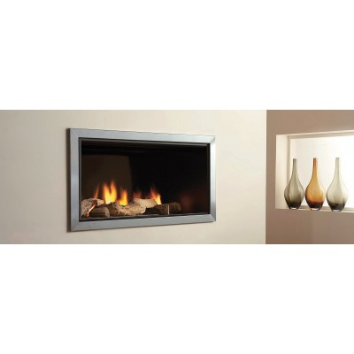 British Brf fireplaces Recessed burner GBRFB35XTX