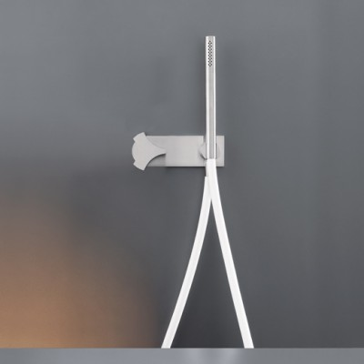 Cea Design Ziq Hydroprogressive tap set for bath/shower with hand shower ZIQ42S + built - in part cod. PTR03