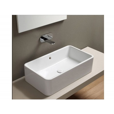 Cielo Shui rectangular on top sink SHLAA7520