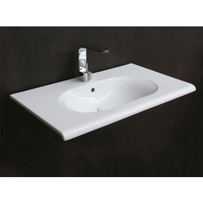 Cielo FLUID suspended sink FLLS80