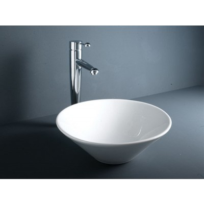 Rak Daisy Washbasins bowl without overflow 380x190x125 LADA00001