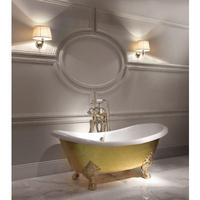 Devon&Devon Mida Bathtubs cast iron bathtub 2MRMIIDAFLOTSP