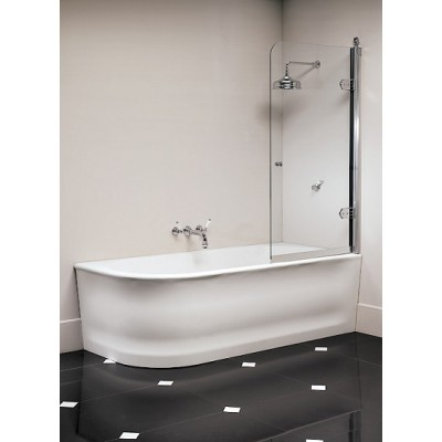 Devon&Devon Wave Bathtubs bathtub in white tec 1NAWAVEDX