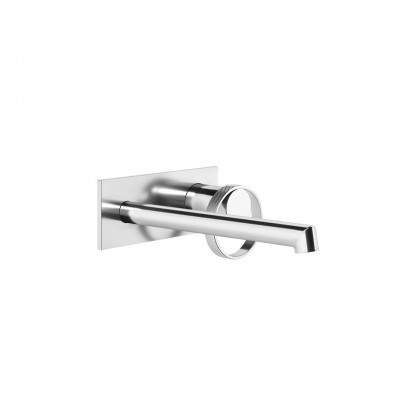 Gessi Anello Wall-mounted sink tap + recessed part 63389+63397