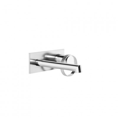 Gessi Anello wall-mounted sink tap + recessed part 63388+63397