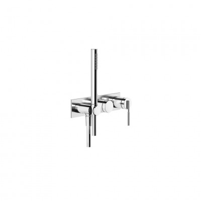 Gessi Ingranaggio Wall-mounted shower tap + recessed part 63543 + 54139