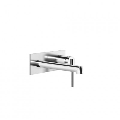 Gessi Ingranaggio Wall-mounted sink tap + recessed part 63588 + 63397