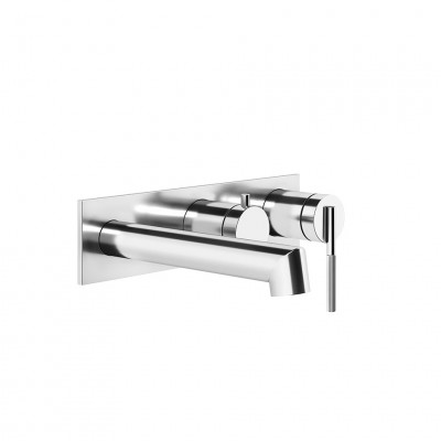 Gessi Ingranaggio Wall-mounted tub tap + recessed part 63541 + 54139