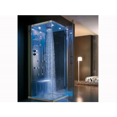 Hafro TEMPO right wall multifunctional shower cabin with frontal door TEMPO INTEGRA 1TPA5D2