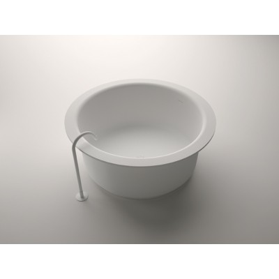 Agape In-out round and freestanding tub AVAS1042Z