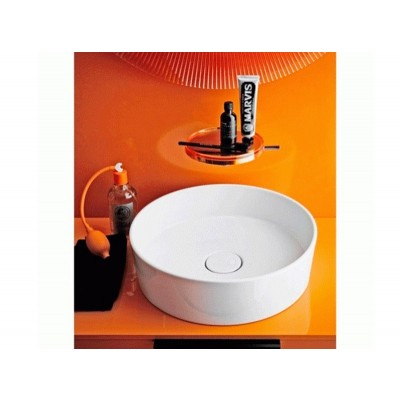 Kartell by Laufen white round sink 8.1233.1.000